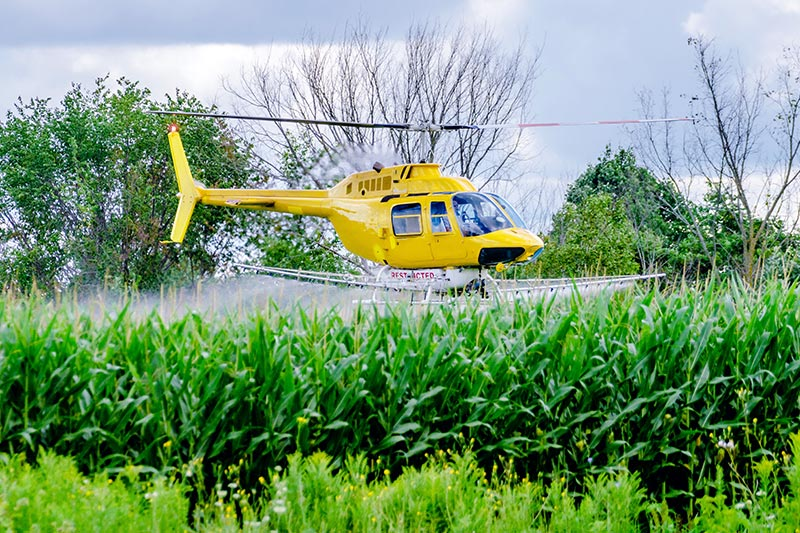 Agricultural Helicopter Spraying in Pennsylvania
